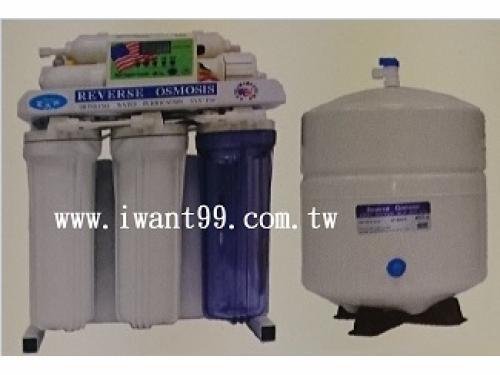 iW-05 液晶微電腦水質偵測活化純水機(框架式)